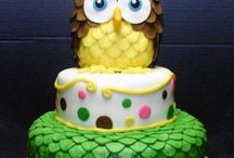 Owl Themed Cakes, Cupcakes and Cake Topers / Owl Themed cakes from CakesDecor.com