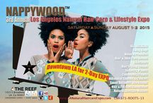 Nappywood™ Weekend Los Angeles  9/23-9/24 - 2017 / Whether you are Natural, Straight, transitioning, wearing hair extensions and wigs,gray or balding, top educators, professional Stylists and barbers will be on hand to address all of your concerns. LANHCE is the premiere event focused on the Natural health and wellness  lifestyle on the West Coast. http://www.lanaturalhaircareexpo.com/   #HappyInNappywood