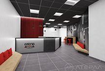 Reception desks & Bespoke furniture for Gyms / Bespoke design and production - Reception furniture and bespoke furniture ideas.