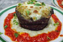 Köfte-Patlıcan beyendi