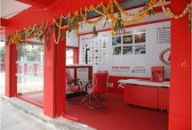 Our Dealerships / Snapshots of our dealership showrooms across India