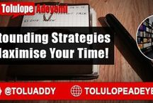 5 Astounding Strategies to Maximise Your #Time by @Toluaddy RT...