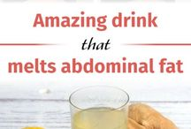 Amazing drink melts abdomenal fat