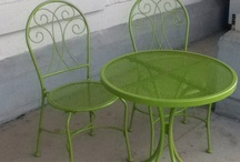 table & chairs / by Joyce Cardwell