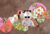 Family Branches Digital Scrapbooking Collection by Kathryn Estry / Family Branches gives you a whimsical approach to family tree or heritage layouts.