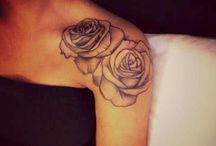 Rose Shoulder Tattoos