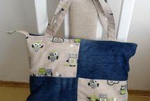 moje výtvory / Šití tašek