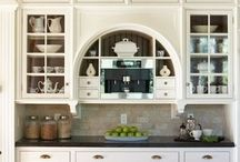Project::  Enfield Road / Light and Bright Kitchen Remodel.  Black and White