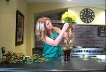 DIY Flower Demos / Video demos on how to arrange flowers at home, by Cactus Flower's top designers. Cactus Flower is Phoenix's leading florist.