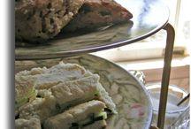 Tea Party Food  / Tasty tiny tidbits make tantalizing tea time treats!
