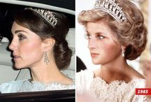 Princess Diana-Kate duchess of Cambridge