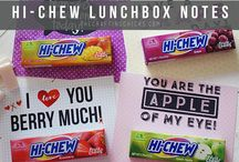 Back To School / Hi-Chew is the perfect fit for your backpack, locker or lunchbox! Find fun lunchbox printables and more!  / by Hi-Chew USA