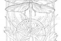 3.8 dragonflies / guldsmed