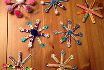 Snowflake craft and art ideas