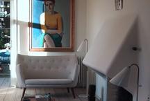 INTERIOR ART SUGGESTIONS & IDEAS / L'arte in casa/ art@home
