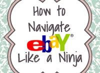 Ebay / Tips for selling & buying on Ebay! / by Malanie Camden Mandeville