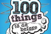 100 thing's to do before high school.