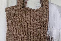 Crochet Hand Bag PATTERN Pinterest, Crochet Tote Bag Pattern, Crochet Purse Pattern, Crochet Bags, Boho Bag, Summer Bag