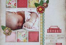 Scrapbooking - Baby