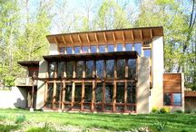 Sustainable Homes / Homes that feature sustainable or regenerative design featurea.
