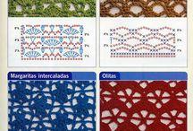 Crochet Stitches / Crochet stitches to learn