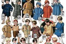 Children vintage clothes
