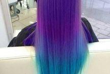 Cheveux teinture