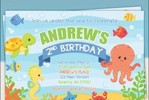Under the Sea Birthday Party