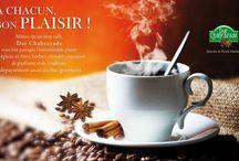 PARTAGE DE JOUR / A CHACUN SON PLAISIR ! Mieux qu'un bon café Dar Chahrazade vous fait partager l'insoutenable plaisir des épices et des fine herbes, véritable concentré de parfums et de couleurs, de dépaysement assuré des fins gourmets .