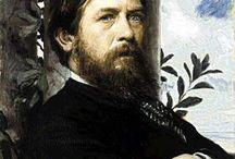 Arnold Bocklin / Arnold Böcklin (Basilea, 16 ottobre 1827 – San Domenico di Fiesole, 16 gennaio 1901) pittore, disegnatore, scultore e grafico svizzero, nonché uno dei principali esponenti del simbolismo tedesco insieme a Ferdinand Hodler, Max Klinger e Lovis Corinth.