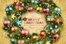 Joulu - piirroskuvia