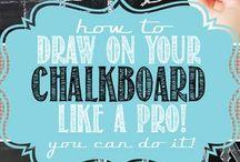 CHALK IT UP / by Kim