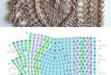 Pletené bordury