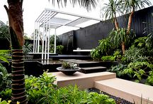 House Inspiration / Minimalist houses and apartments, lot's of greenery and simple decorations