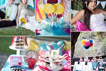 Alice In Wonderland Wedding Concept