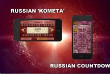 Interactive programs that teach you to read and count in Russian in an entertaining way. / Our new applications Russian 'KOMETA' and Russian Countdown are very important to us because they will stimulate learning of Russian and promote our method of teaching. Launched as free educational games to teach the students how to read and count in Russian, the programs are planned to become conductors for numerous fluency practice drills, exciting tests and logical games not only in Russian but also in some other popular languages.
