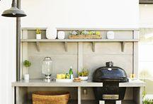 Кухни на открытом воздухе