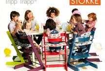 Stokke / Stokke realizza passeggini, seggioloni e marsupi belli e innovativi per bambini, progettati nell'interesse di genitore e bambino. Grazie al design senza tempo che supera la contemporaneità della moda, ogni prodotto Stokke, offre una soluzione che si evolve e sostiene il bambino dall'infanzia all'adolescenza.