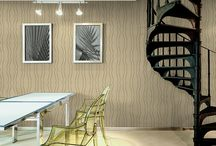 Ultrawalls Wall Paper decorating / Modern Look: If you are someone who likes the contemporary design and the cool modern looks then you can try out some of the wall paper printed designs.