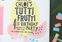 Tutti fruity b-day