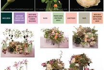 Flower Trends: Modern Garden / The traditional bride preferring shades of blush and peach will relish the soft and unstructured artisanal feel of Modern Garden. The look balances modern and vintage and the flowers include garden blossoms of roses, clematis and stock combined with succulents and lamb's ear foliage.  An earthy, but romantic event.