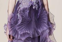 воздушный цвет платья