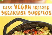 Vegan Freezer Meals
