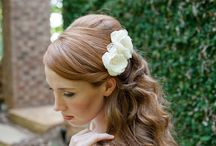 Bridal Hairstyles / hairstyle ideas for brides and bridesmaids / by PinkTulleBride
