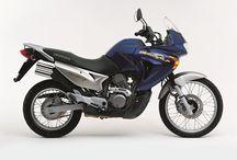 Dual Purpose Motorcycles / Dual Purpose Motorcycles like the Honda Transalp, Kawasaki KLR650 and the