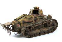 Diorama tank