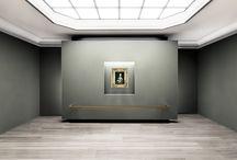 Czartoryski Museum / competition / INTERIORS OF CZARTORYSKI MUSEUM competition, 2nd prize Cracow, POLAND - 2017