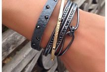 "Bracelet en cuir / Bijoux en cuir ""Femme et Homme"""