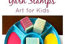 Stamps Handmade / Sellos Caseros