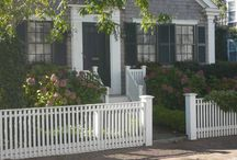 """Nantucket, MA - Fences and Gates / Lovely landscaping, fences, arbors, gates, and gardens on Nantucket Island.  Turn to AVO Fence & Supply to create YOUR """"Beautiful Borders""""."""